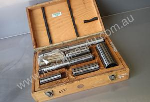 Mandrel Set 25mm to 50mm Lathe Mill Bore Holder To