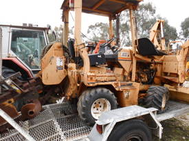 42hp ditch witch trencher , side shift , B/hoe  - picture1' - Click to enlarge