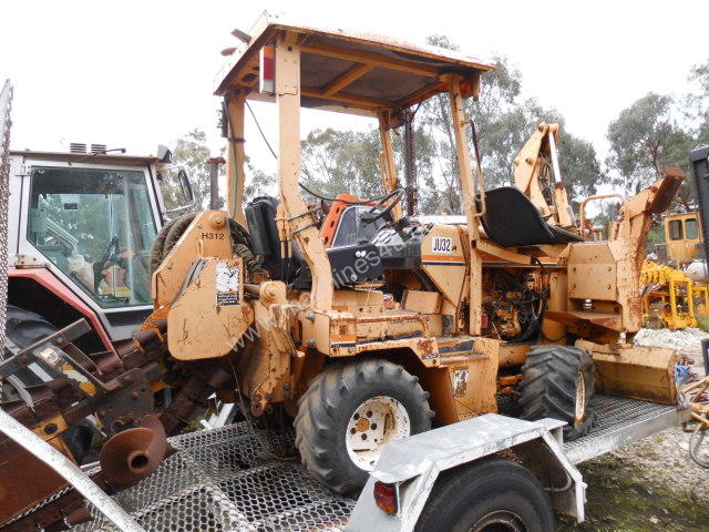 42hp ditch witch trencher , side shift , B/hoe