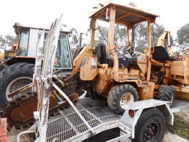 42hp ditch witch trencher , side shift , B/hoe  - picture4' - Click to enlarge