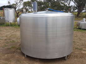 STAINLESS STEEL TANK, MILK VAT 3800 LT - picture2' - Click to enlarge