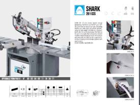 MEP SHARK 281 CCS Manual Bandsaw - picture4' - Click to enlarge