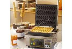 Roller Grill GES 23 Single Waffle Iron for Waffles on Sticks
