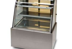 Anvil DSC0730 Refrigerated Cake Display Curved Glass