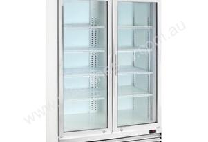 F.E.D. LG-688E Two Door Display Fridge