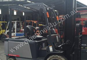 TEU Electric Forklift 3.5T  6m Lift Container Mast