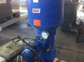 HIGH PRESSURE CENTRAL LUBE GREASE PUMP LINCOLN