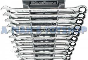 RATCHET WRENCH SET XL METRIC 12PC