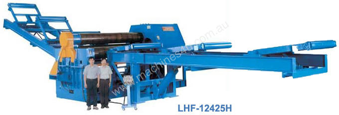 Hydraulic 4-Roll Plate Bending