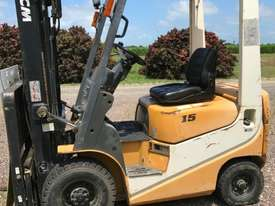 TCM FG15 Std Forklift Forklift - picture0' - Click to enlarge
