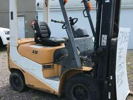 TCM FG15 Std Forklift Forklift - picture1' - Click to enlarge