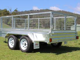 NEW Box Trailer Delivery AU WIDE Galvanised 10x5
