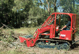 Fuda 30HP Loader Dozer with PTO