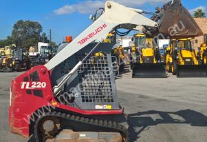 Takeuchi TL 220 Tracked Skid Steer Machine
