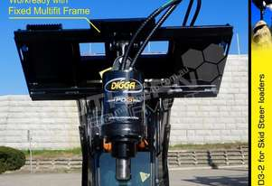 PD3 Auger Drive suit skid steer loader up to 75LPM