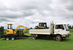 New Holland Tipper and Excavator Combo