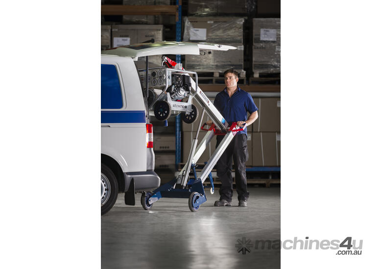 Makinex Powered Hand Truck - lift up to 140kg on your own!