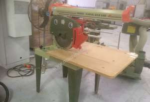 USED OMGA RN 700 3PHASE RADIAL ARM SAW 400MM SAW BLADE   .