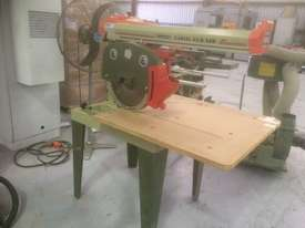 USED OMGA RN 700 3PHASE RADIAL ARM SAW 400MM SAW BLADE   . - picture0' - Click to enlarge