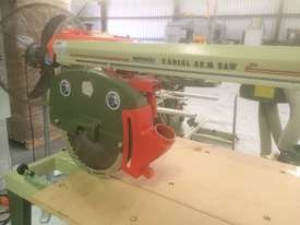 USED OMGA RN 700 3PHASE RADIAL ARM SAW 400MM SAW BLADE   . - picture2' - Click to enlarge
