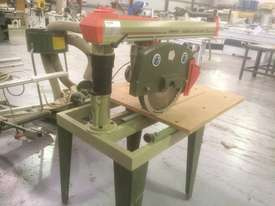 USED OMGA RN 700 3PHASE RADIAL ARM SAW 400MM SAW BLADE   . - picture3' - Click to enlarge