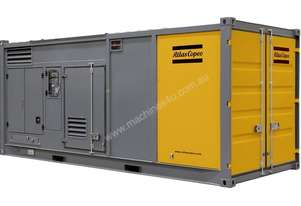 Atlas Copco Prime Fixed Generator QEC 1000 Temporary Power Generator