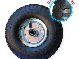 52104 - 260MM SILVER SERIES PNEUMATIC OFFSET WHEEL - picture0' - Click to enlarge