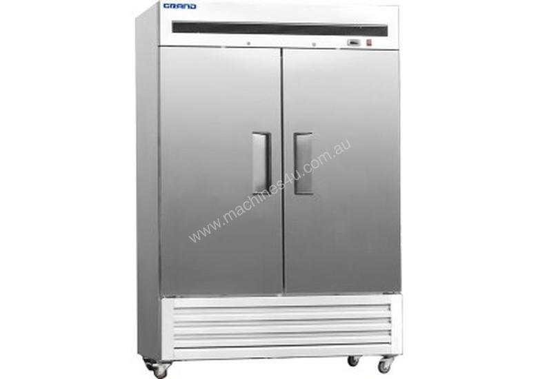 F.E.D GRAND Two Door Stainless Steel Fridge with bottom unit - 1400 Litre - GN1410TNM