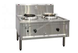 CookTek EW.ACT2.I.50.800 Free Standing Heavy Duty 5kw Double Wok Induction Table
