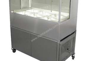 Woodson W.CFDSQ24 Square Cold Food Display - 1500mm