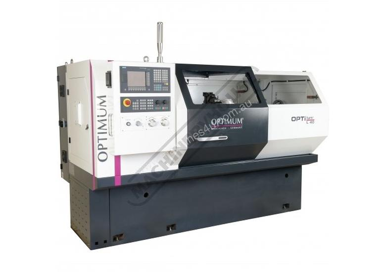 L40 OPTi-Turn Optimum CNC Lathe 400 x 1000mm Turning Capacity