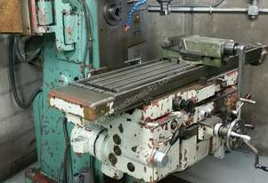 Tos Universal Mill with vice & tools