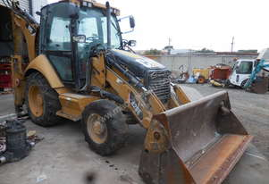 Caterpillar Cat 428E Fel / Backhoe