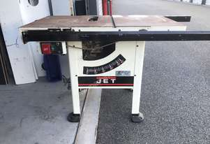 Jet   TABLE SAW USED