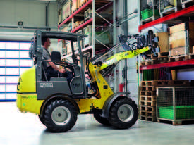 WL20e Articulated Wheel Loader - picture2' - Click to enlarge