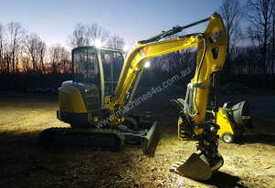 Wacker Neuson NEW EZ36 Zero Tail Excavator