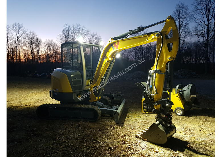 New wacker neuson NEW EZ36 Zero Tail Excavator Mini
