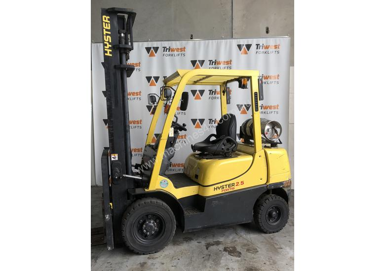 Hyster 2.5t counterbalance hire