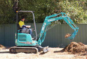 Kobelco SK17SR-5 Mini Excavator for Dry Hire