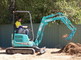 Kobelco SK17SR-5 Mini Excavator for Dry Hire - picture0' - Click to enlarge