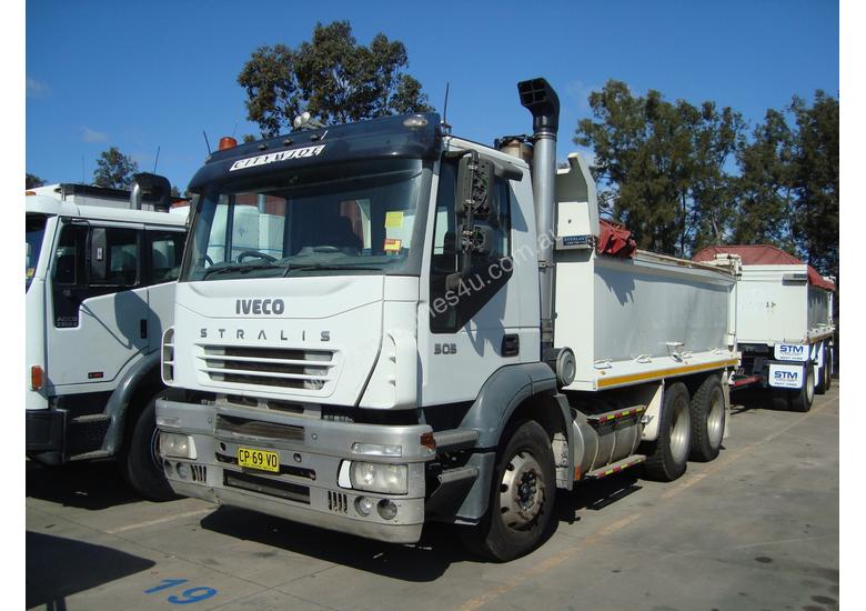 Iveco Stralis Tipper Truck