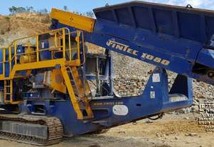 Fintec 1080 Cone Crusher, only 925 crushing hrs, Call EMUS