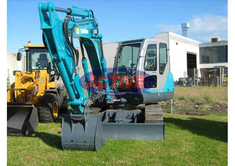 New 2017 sunward Active Machinery Sunward Excavator SWE80B