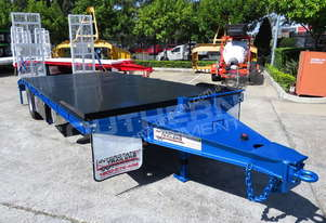 11 Ton Custom Tag Trailer Metallic Blue  ATTTAG