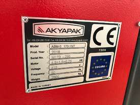 Akyapak ASM-S 170-15-7 Asymmetric Plate Rolls (8mm capacity, 7mm prebend) - picture1' - Click to enlarge
