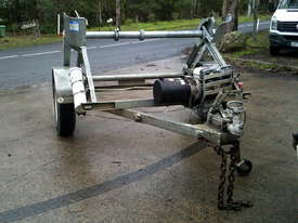 1 ton hydraulic self  loader cable drum trailer 2.5hp honda , 2010 model - picture1' - Click to enlarge