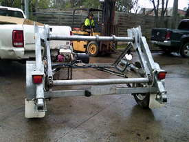 1 ton hydraulic self  loader cable drum trailer 2.5hp honda , 2010 model - picture2' - Click to enlarge