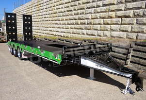 ELITE Tri Axle 28 Ton Tag Trailer Green ATTTAG