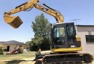 2010 CAT 308D CR 8T Excavator only 2461hrs A/C Cab , Zero Swing, 1500mm, 600mm & 300mm Buckets