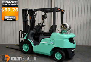 Mitsubishi FGE25ZN 2.5 Tonne Forklift Sideshift Container Mast Excellent Condition Current Model